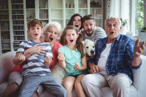 Una famiglia riunita