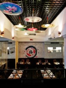 L'interno del ristorante Aomori di Prato